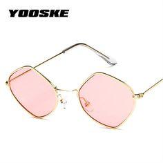el Malus retro Small Thin Tiny Cat Eye Metal Frame Sunglasses Women Sexy Ladies Pink Silver Lens Black Gold Shades Sun Glasses Women's Glasses
