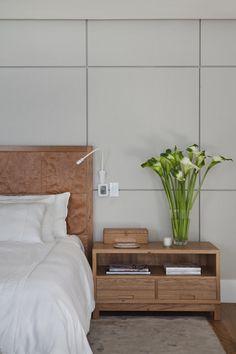 Residência Brise / Gisele Taranto Arquitetura @GT_Arquitetura #quarto #cama #cabebeceira #bedroom #wall #decor