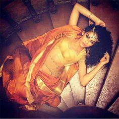 The magic that happens when #heritage #ganjam #jewellery and #angadigalleria get together. Seen here is #dancer #rukminivijayakumar looking #stunning in a gorgeous #golden #hued #tussar #angadigalleria Saree from #thehouseofangadi . #indiatodayspice #Saree #indianbeauty #indiatoday #india #karnataka #ganjamjewellery #bangalore #bangalorediaries #bangalorebloggers #bloggerindia #dlfemporio #delhi. https://instagram.com/p/-B77vMMp7x/