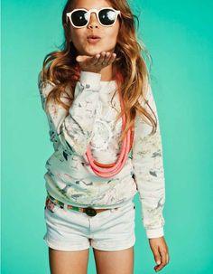 Scotch R'belle summer 2015 / girlsfashion zomer trends Have a look at the new summer collection here- mi niña interior Fashion Kids, Little Kid Fashion, Girl Fashion Style, Tween Girls, Kids Girls, Moda Tween, Little Fashionista, Cute Outfits For Kids, Stylish Kids