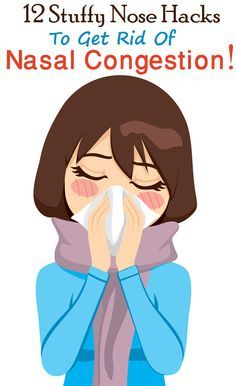 12 Stuffy Nose Hacks To Get Rid Of Nasal Congestion   Ear