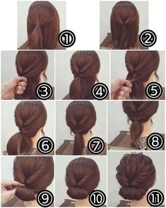 Idea Tendance Coupe & Coiffure Femme Easy Tutorials For Good . - Idea Tendance Coupe & Coiffure Femme Easy Tutorials To Style Your Hair Well – - Easy To Do Hairstyles, Wedding Hairstyles For Long Hair, Easy Hairstyles, Hairstyle Ideas, Hair Ideas, Stylish Hairstyles, Interview Hairstyles, Latest Hairstyles, Office Hairstyles