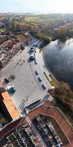 Renovation of the Village Centre of Machelen-aan-de-Leie 14 photo sofam2009 Landscape Architecture Works   Landezine