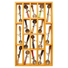 Shop shadow boxes and other wall décor and wall art from the world's best furniture dealers. Ice Cream Scooper, Vintage Ice Cream, Wall Decor, Wall Art, Cool Furniture, Wind Chimes, Wine Rack, Space, Antiques