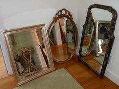 A variety of wall mirrors to match any style.