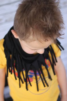 You pick 2 HIPSTER Toddler Fringe Scarf Little by RichGirlRagsCo