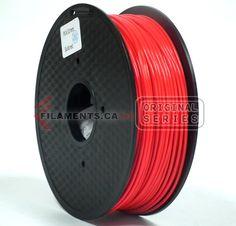 RED PLA 3D Printer Filament 2.85mm – Filaments.ca