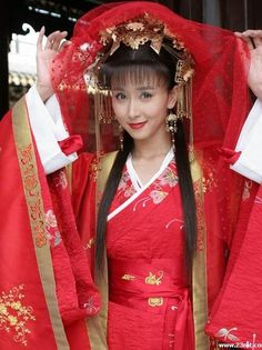 中國古裝 - Chinese Wedding dress