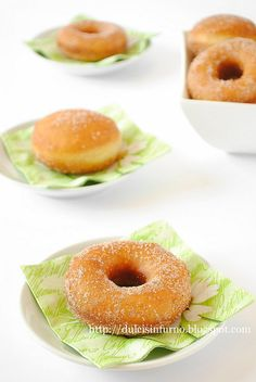 Italian style doughnuts- so soft and fluffy!