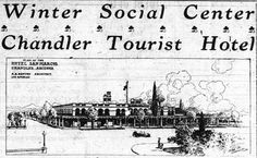 "Billed the ""Winter Social Center,"" the San Marcos Hotel brought in winter visitors from around the nation."
