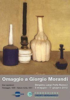 Giorgio Morandi - If  you like you can see for free two works by giorgio morandi.Come to Bergamo
