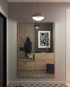 Hallway Designs, Foyer Design, House Design, Small Apartment Interior, Apartment Design, Home Entrance Decor, Entryway Decor, Hallway Decorating, Beauty Room
