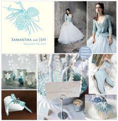 ice blue winter wedding by soo12, via Flickr