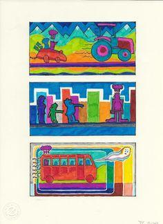Die Blumenwiesenfee Illustration 30 Traumstörung 30th, Illustration, Painting, Painting Art, Paintings, Illustrations, Painted Canvas, Drawings