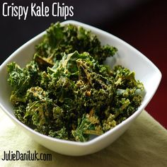 Kale Chips by Julie Daniluk