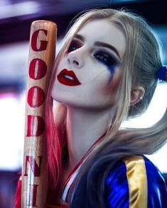 Harley Quinn - fandom: Suicide Squad character: Harley Quinn cosplay by: Katya Kosova (Ukraine) photo: Tim Rise Harley Quinn Disfraz, Joker Und Harley Quinn, Harley Quinn Cosplay, Dc Cosplay, Best Cosplay, Joker Cosplay, Awesome Cosplay, Cosplay Girls, Suiced Squad