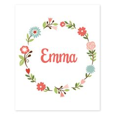 Another great find on White Floral Personalized Print by sarah + abraham Personalized Baby Gifts, Personalized Stickers, Name Art, Floral Prints, Art Prints, Arte Floral, Sweet Girls, Wood Crafts, Fall Decor