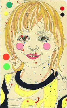#portrait #illustration by Sarah Beetson