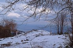 Another snowing day at beautiful Pelion, Greece! www.lionsnine.gr