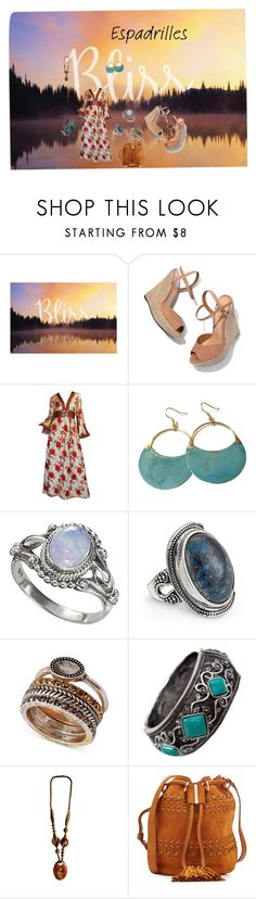 """""""We are stardust"""" by sftorchwood ❤ liked on Polyvore featuring Schutz, Bill Blass, Lucky Brand, See by Chloé and espadrilles"""