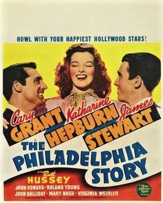 Cary Grant, Katherine Hepburn & James Stewart - The Philadelphia Story