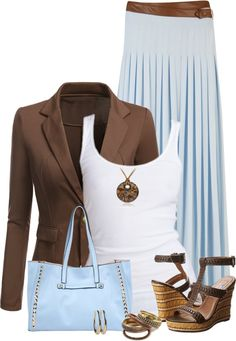 100 Style Ideas On How To Wear A Blazer & Skirt For Work Part 1