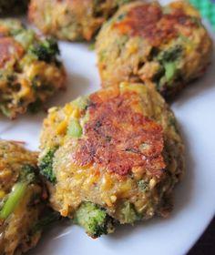 Broccoli Cheddar Bites - toddler & kiddo friendly recipe!