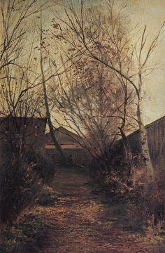 Alley, 1870, Aleksey Savrasov