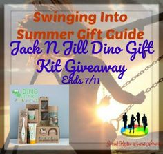 Jack N Jill Dino Gift Kit Giveaway Ends 7/11 ~ Tales From A Southern Mom
