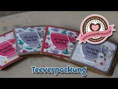 Tutorial: Teeverpackung mit Stampin' Up! Produkten - YouTube