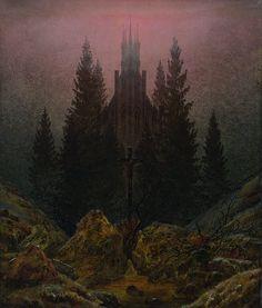 The Cross in the Mountains, Caspar David Friedrich (c.1812)
