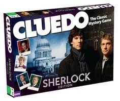 Cluedo Sherlock Board Game==> the victim can't kill himself Sherlock