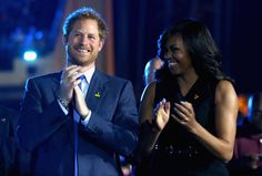 Pin for Later: The Best Pictures of the British Royals in 2016 — So Far! When Harry and Michelle Obama Opened the Invictus Games