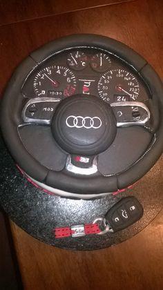 Audi steering wheel