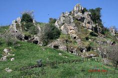 Sardegna- Suni. Necropoli domus de janas di Chirisconis