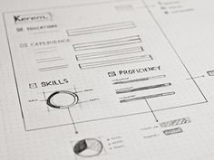User Experience Designer Resume 50 Best Wireframes &ui Sketches Images On Pinterest  Sketches .