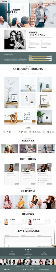 Stihiys is the awesome responsive #HTML bootstrap template for creative #photography, #modeling #agency and blogs websites with 3 unique homepage layouts download now➩ https://themeforest.net/item/stihiya-photography-agency-and-blog-template/19263974?ref=Datasata