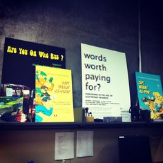 Some posters from past events and exhibits our library has been part of!