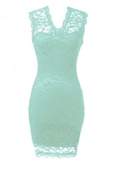 All over lace with scalop edge, full lining fitted dress.58% Nylon, 40% Poly, 2% SpandexLegnth: 34 Inches.Sizes Run Small