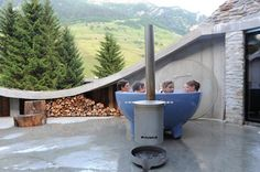 Dutch Tub - Would you like one at your luxury holiday cottage at Rivercatcher?