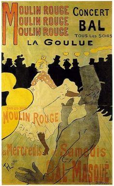henri de toulouse lautrec la goulue 1891 lithographie