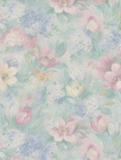 Interior Place - Teal Sunsplashed Floral Wallpaper, $25.89 (http://www.interiorplace.com/teal-sunsplashed-floral-wallpaper/)