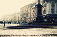 """""""Old Town"""" Warsaw, Poland, 2011  A little time to explore in between trains....looking forward to returning soon!"""