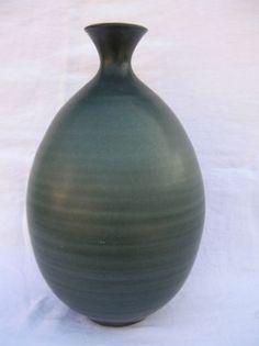 "Harrison McIntosh 14"" high Bottle Vase California Studio Art Pottery Stoneware"
