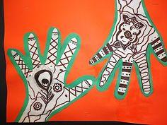 Thomas Elementary Art: 2nd Grade Henna Hands