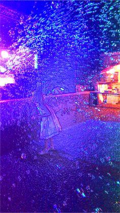 #BubblesNight ;-) http://1picture1word.com/2015/08/05/bubbles-night/… #1P1W