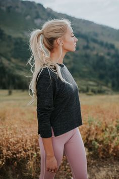 It's all about the crop this season! Introducing our Serenity Crop. Made with ultra soft sporty fabric, this top is ready to take you on your favorite run but it's also versatile enough to be layered for a day or evening look with fashion leggings and booties, or jeans and flats. Layer it over your favorite Go Long Tee to add some dimension and length to your outfit or pair with your favorite high waisted leggings if you want to show off that cute tush. To see more, head to albionfit.com