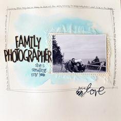 Family Photographer | Simple Scrapper June 2015 | Premium Member Template & Story Starter | ©sarathings designs 2015