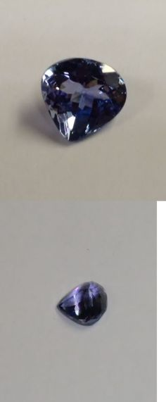 Tanzanite 4195: 2.88Ct Pear Shape Natural Fancy Color Tanzanite - Great 4 Recutting! -> BUY IT NOW ONLY: $245 on eBay!