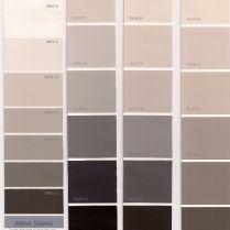 Gama de grises paredes tonos gris en 2018 pinterest gris colores y colores grises Color vison paredes